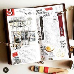 Journal notebook, journals, notebooks, travel journal pages, journal layout Travel Journal Pages, Journal Notebook, Sketch Journal, Journal Layout, Smash Book, Art Doodle, Filofax, Travel Sketchbook, Daily Journal
