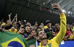 Renato Augusto Brasil x Alemanha (Foto: Reuters)
