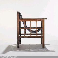 MALLET STEVENS Robert   Adjustable Armchair