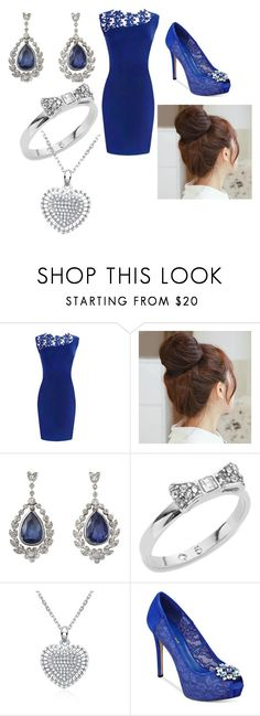 """""""On a date with him """" by unicornclass on Polyvore featuring Pin Show, Kate Spade, GUESS, women's clothing, women's fashion, women, female, woman, misses and juniors"""