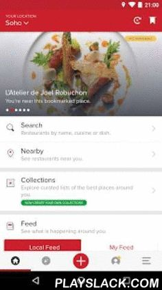 Zomato - Restaurant Finder  Android App - playslack.com ,  Zomato is the best way to search for and discover great places to eat at or order in from. It's a beautifully designed, easy-to-use social restaurant finder app that lets you explore all the dining options in your city. Browse through restaurant menus, pictures, and user reviews to decide where you want to eat, and use the map feature to guide you there.If you are in India, UAE, or the Philippines, you can also order your food online…