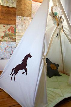 #pacztipi #pacz #teepee #tipi #wigwam #tent #crochet #pillows #radosnafabryka #handmade Cotton Fabric, Kids Room, Toddler Bed, Room Decor, Cool Stuff, Cool Things, Home Decor, Cotton Textile, Nurseries