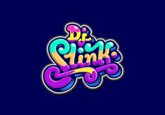 DJ Slink logo by Filip Komorowski