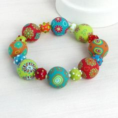 ost beautiful bracelet, awesome, vibrant colors!