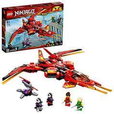 LEGO-Le superjet de Kai Ninjago Jeux de Construction 71704 Multicolore Figurines D'action, Figurine Lego, Lego Ninjago Minifiguren, Ninjago Kai, Lego Duplo, Ninjago Cole, Ninja Battle, Ninja Warrior, Building Sets For Kids
