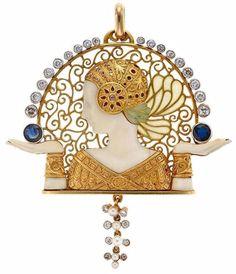 Art Nouveau Jewelry by Lluis Masriera Roses