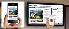 Combi Promotiebeeldscherm met Mobiele App