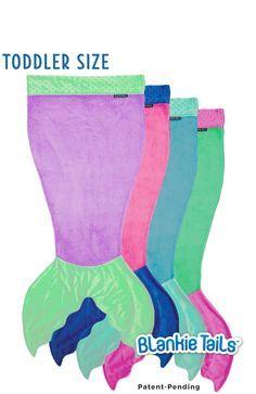 Toddler Mermaid Blanket by Blankie Tails - Blankie Tails - 1