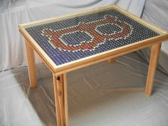 Hand Crafted Boston Red Sox Table by joshuabenway on Etsy, $700.00