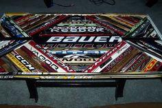 Hockey Stick Coffee Table #3 - by Mike Soramaki @ LumberJocks.com ~ woodworking community