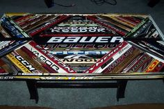 furniture made from hockey sticks - Google Search