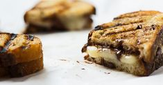 Watch and learn how to make a sweet-and-savory grilled cheese sandwich with Nutella and creamy stracchino cheese.