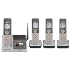 $79.00 AT DECT 6.0 Expandable Cordless Phone System with Talking Caller ID and Digital Answering System - 4 Handset Pack by AT, http://www.amazon.com/dp/B004ZKRFKE/ref=cm_sw_r_pi_dp_ZQ6yrb0NZJXPQ