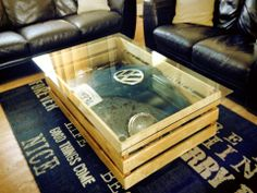 vw front end coffee table
