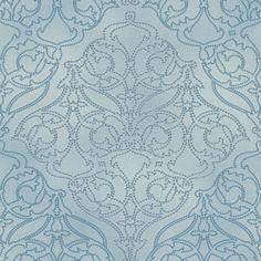 Rasch Vliestapete Miracle 421613 Barock hellblau blau