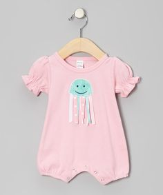 Take a look at this Cotton Candy Jellyfish Romper - Infant by Cotton Candy Cottage on #zulily today!
