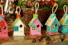 activity for kids - paint a birdhouse (to purchase at Michael's)