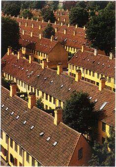 Nyboder - construction started 1631 - Copenhagen http://www.visitcopenhagen.com