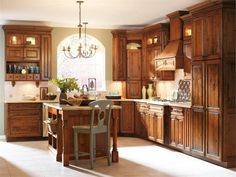 Rustic Kitchen Photo by Kemper Cabinetry - Homeclick Community