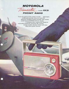 Motorola brochure 6X31 1958
