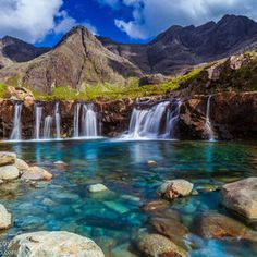 Fairy Pools - Isle of Sky, Scotland, UK