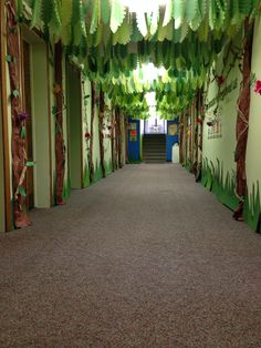 Weird Animals hallway