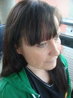 Hiukset hiusvärin käytön jälkeen