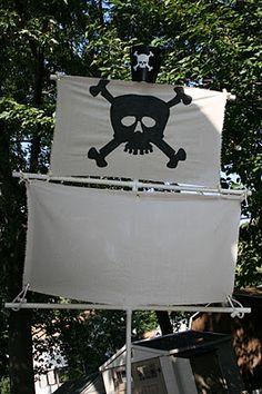 Pirate Ship Masts-diy