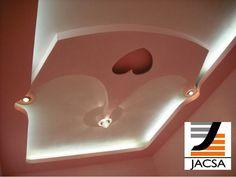 Diseño de Plafones Falsos para Recamaras de Niña | Ideas Diseño de Interiores #falsoacabado