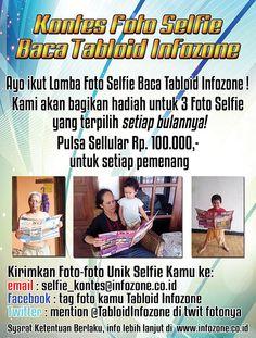 Kontes Bulanan Foto Selfie Tabloid Infozone 2015