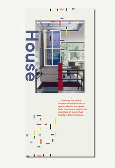 Gerrit Rietveld Posters #Modern #Architecture #Schroderhouse #Stairs #Design #Archdaily Museum Poster, Vintage Interior Design, Posters, Flooring, Lights, Architecture, Classic, Modern, Projects