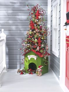 Great idea for the doghouse!!!
