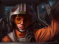 Star Wars: Age of Rebellion - Red 5 by AnthonyFoti on deviantART