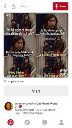 Funny Disney, Disney Memes, Girl Meets World, Take Risks, Tumblr Funny, Destiny, Tv, Boys, Movies