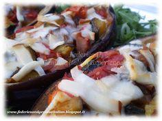 Federico II Genuine Italian Experience: Barchette di melanzane con verdure affumicate