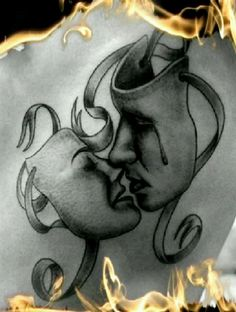 I love this one. It may just be my next tattoo!  Obsessed with comedy/tragedy!!