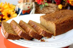 An incredibly moist and flavorful paleo pumpkin bread, infused with Nutmeg Essential Oil and fall spices; a healthier version of the classic recipe!