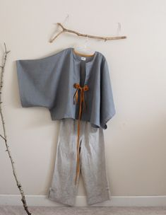 gray+ gold+pebble linen by anny schoo