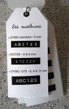 dymo02 Dymo Label, Printable Labels, Printables, Art Storage, Etiquette, Label Makers, Merchandising Ideas, Letters, Invitations