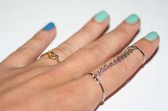 diy easy chain rings