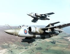 Blackburn Buccaneer, probably one of the greatest low level strike aircraft of all time.