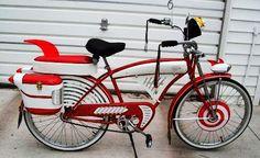 Best bike ever! Old Bicycle, Old Bikes, Bike Gadgets, Bike Craft, Bicycle Types, Pee Wee Herman, Power Bike, Bike News, Kids Ride On