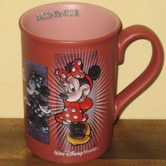 Minnie Mouse Emotions Coffee Mug Cup Disney Theme Parks Pink | eBay Disney Coffee Mugs, Disney Mugs, Disney Gift, Disney Mickey, Walt Disney, Purple Coffee Mugs, Cute Coffee Mugs, I Love Coffee, Coffee Cups