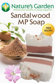 Free Sandalwood MP Soap Recipe by Natures Garden.