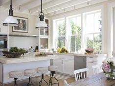 24 Fotos de cozinhas integradas ~ Decoração e Ideias - casa e jardim