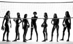 Volley ball girls