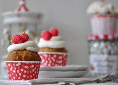 Strawberry Swing #strawberry #cupcakes #aynic #frutillas