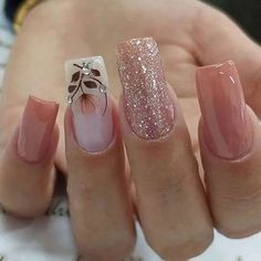 2019 Marvelous Nail Art Designs - Naija's Daily - The best fashion types in the world fashionlife Stylish Nails, Trendy Nails, Cute Nails, My Nails, Pink Nail Designs, Nails Design, Best Acrylic Nails, Nagel Gel, Gorgeous Nails