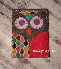 Copycat Felt Owl iPhone Cover!