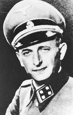 SS-Obersturmbannfuehrer Karl Adolf Eichmann (1906-1962) was head of the Department for Jewish Affairs in the Gestapo from 1941 to 1945 and was...